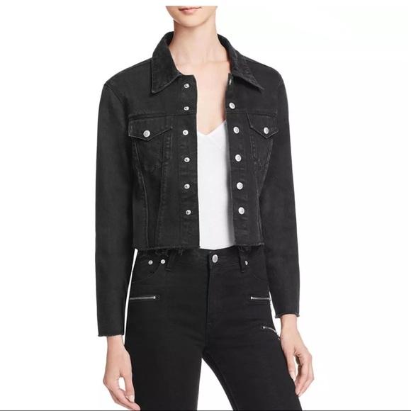 Res Denim Jackets & Blazers - RES FRAYED ZIPPED CUFFS DENIM JACKET